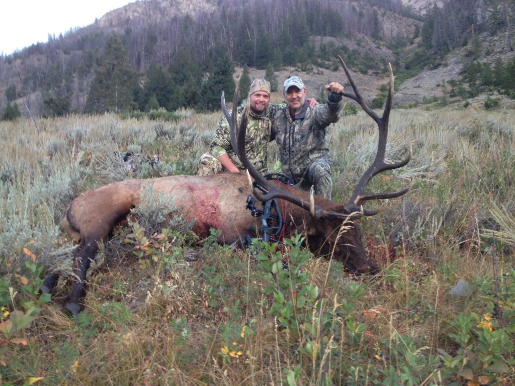 Back country Wyoming Elk hunting permitted in Yellowstone country for the experience of a lifetime