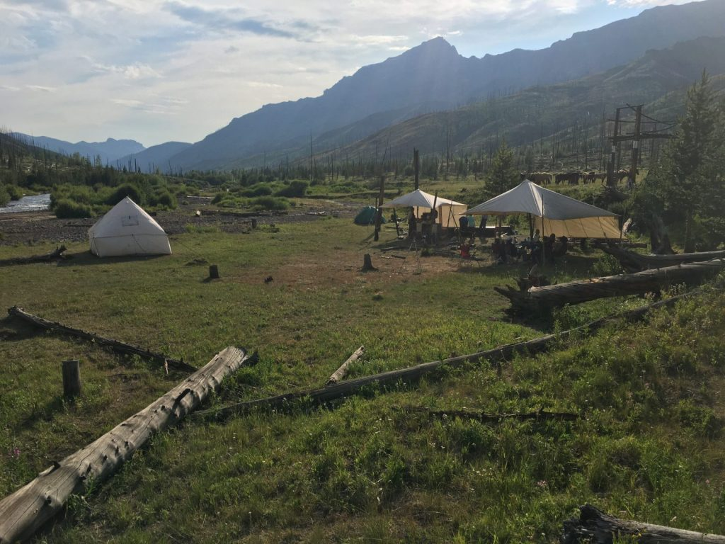 Camp Monaco - located in Shoshone National Forest, Yellowstone Country Wyoming